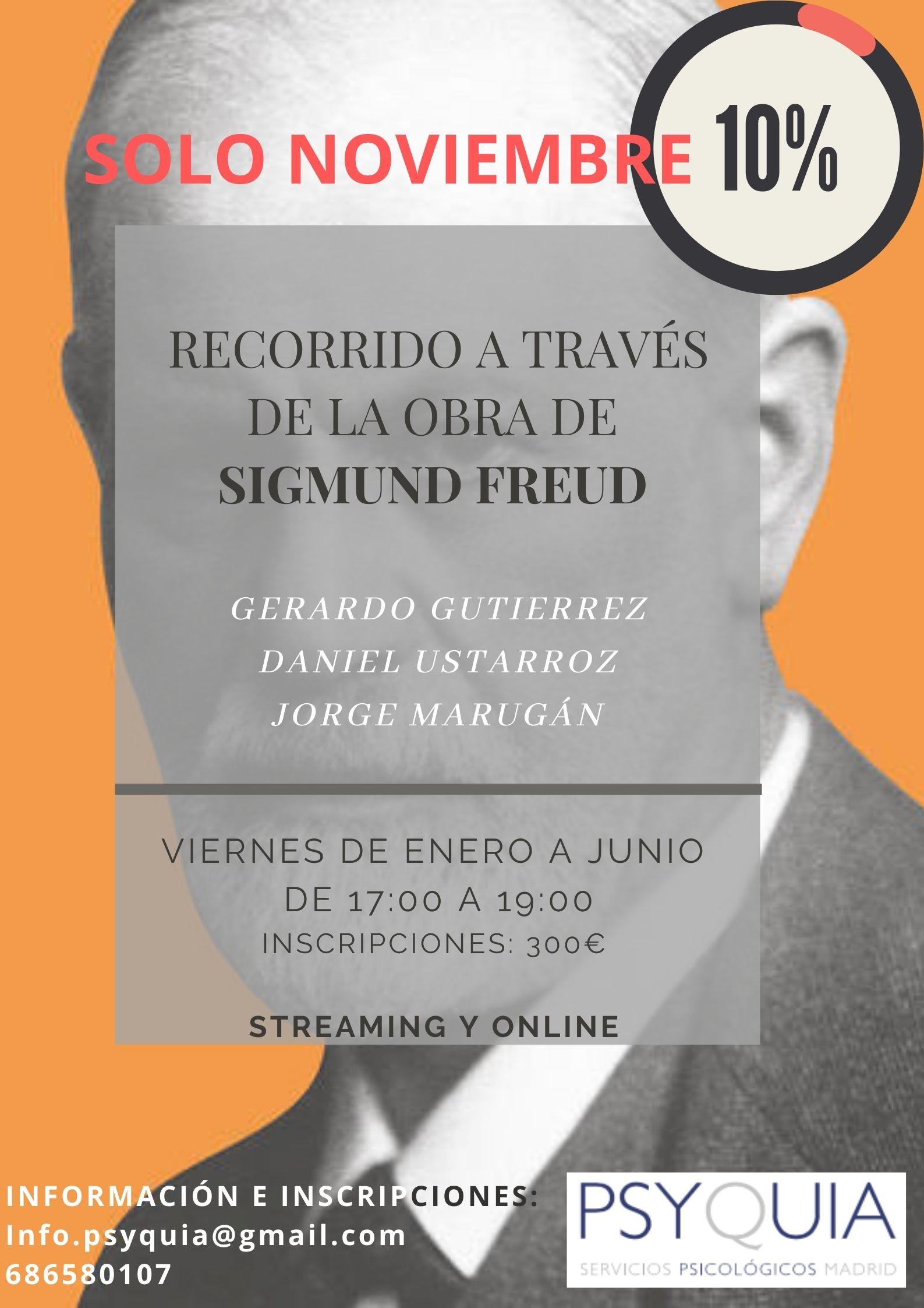 CURSO COMPLETO Recorrido a través de la Obra de Sigmund Freud