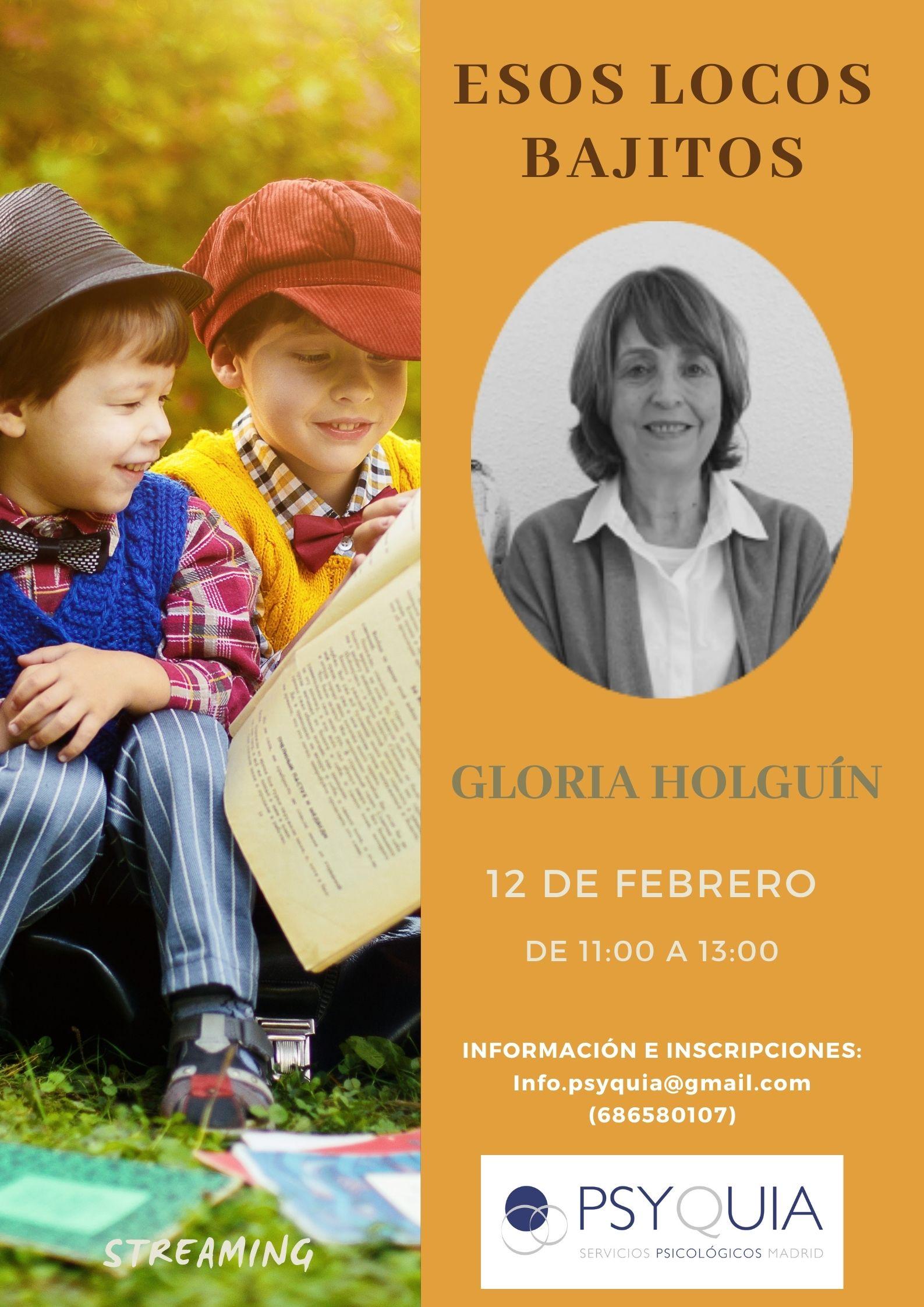 """12/02/22 Lección 5 """"Esos locos bajitos"""". III Ciclo: Las caras de la psicosis- Gloria Holguín"""
